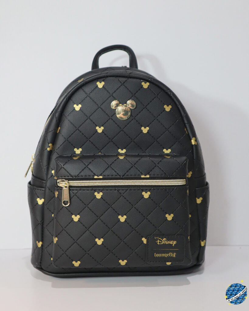 Black and Gold Quilted Mickey